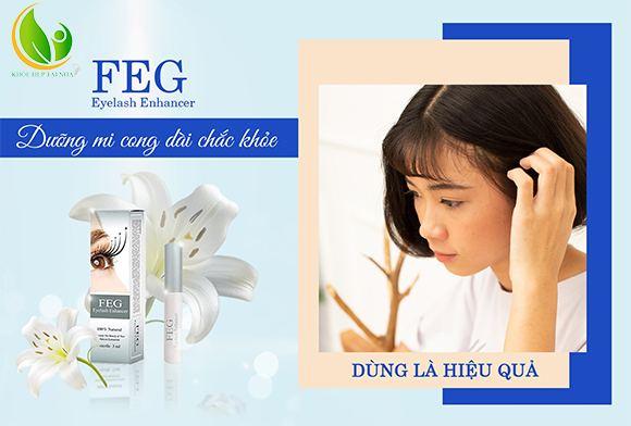 Dưỡng mi FEG được FDA Hoa Kỳ chứng nhận về chất lượng và độ an toàn