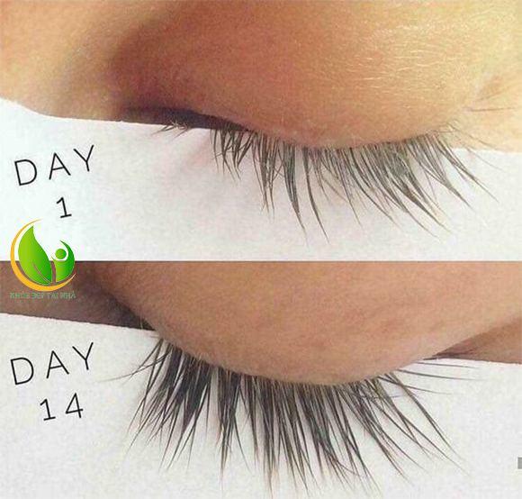 Mi mắt sẽ dài hơn, dày hơn nhờ serum dưỡng mi FEG sau một thời gian ngắn