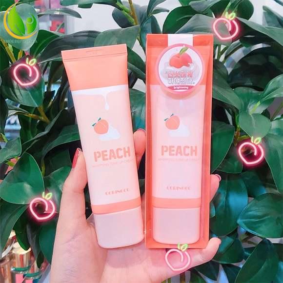 Coringco Peach Whipping Tone Up Cream dưỡng trắng da nâng tông cực kỳ hiệu quả