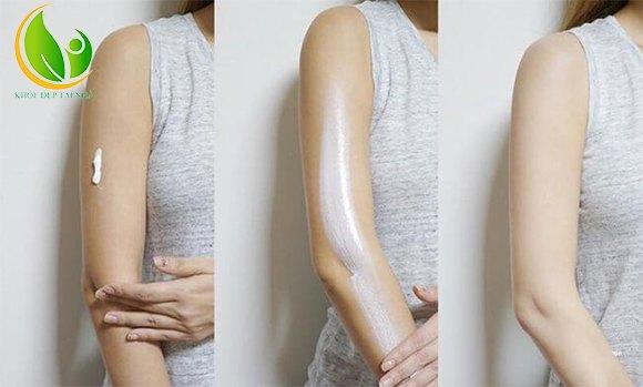 Kết cấu mỏng nhẹ, dễ thẩm thấu vào da