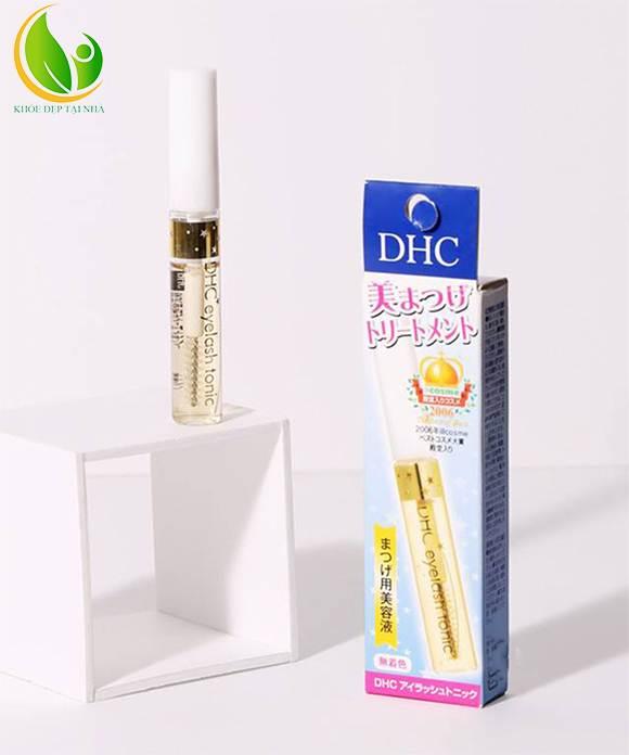 Có thể sử dụng mascara ngay tức thì ngay sau khi sử dụng tinh chất dưỡng mi DHC