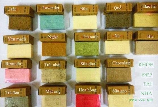 18 loại xà phòng dầu dừa Handmade Coco secret được ưa chuộng - khoedeptainha.vn