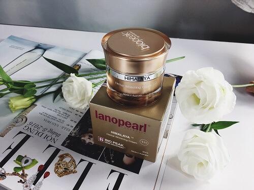 Kem dưỡng trắng da Lanopearl Himalaya Herbal Whitening Cream - bí quyết cho làn da tươi trẻ và trắng sáng