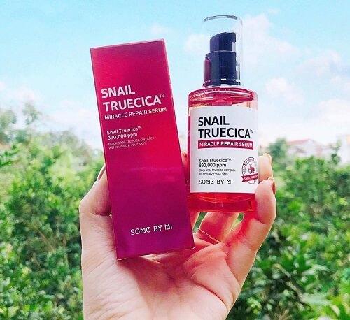 Sử dụng tinh chất trị sẹo Snail True Cica Miracle Repair đúng liệu trình để đem lại hiệu quả nhanh chóng