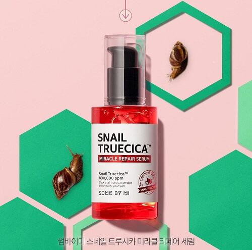 Tinh chất Snail True Cica Miracle Repair Serum dưỡng da, hồi phục tổn thương từ sâu trong tế bào da