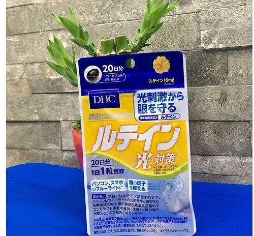 Viên uống chống nắng DHC Lutein bảo vệ da an toàn tuyệt đối trước tác hại của ánh nắng mặt trời