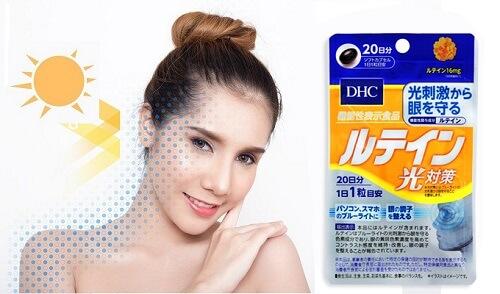 Viên uống chống nắng DHC Lutein - giải pháp hoàn hảo cho da khỏe đẹp