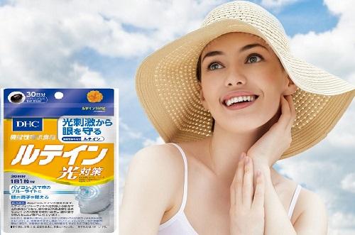 Viên uống chống nắng DHC Lutein ngăn ngừa tổn thương, tái tạo da cực tốt