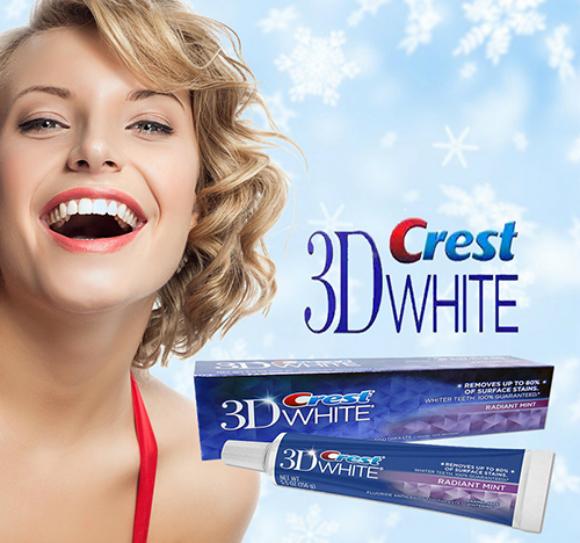 Kem đánh răng Crest 3D White - khoedeptainha.vn