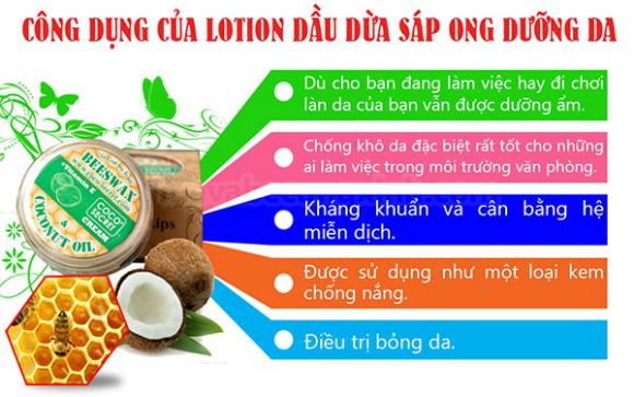Kem dưỡng da dầu dừa Coco secret cho bạn một làn da trắng mịn và tươi trẻ - khoedeptainha,vn