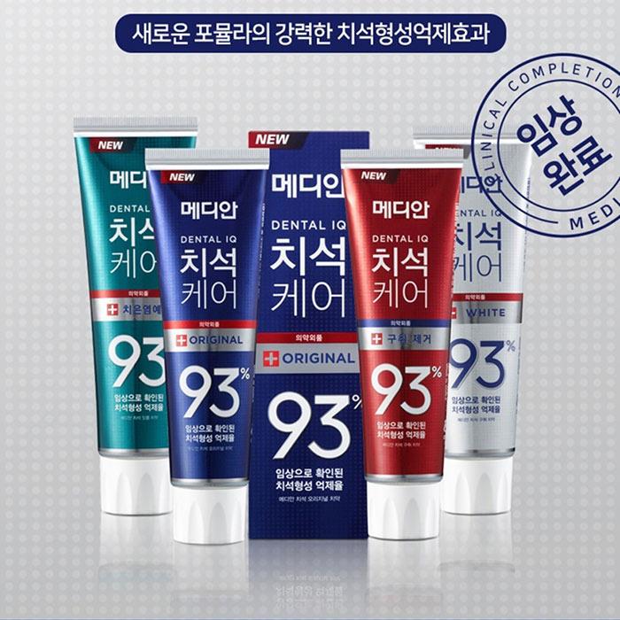 kem-danh-trang-rang-thom-mieng-Median-Dental-Iq-93%-Han-Quoc-(120g)-anh-1