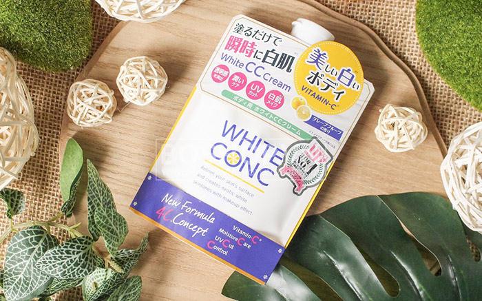 Sua-duong-the-trang-da-White-Conc-Body-CC-Cream-With-Vitamin-C-200ml-anh-1