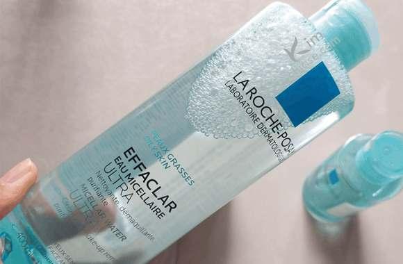 Nước tẩy trang La Roche Posay Micellar Water Ultra Reactive Skin (màu xanh biển): dành cho da khô, da thường.