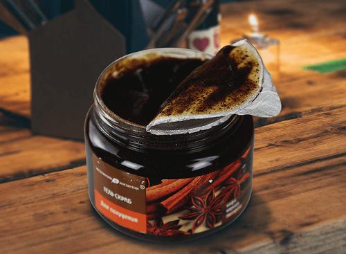 Tẩy Tế Bào Chết Toàn Thân Quế Hồi Coffee Nga - 380ml 2