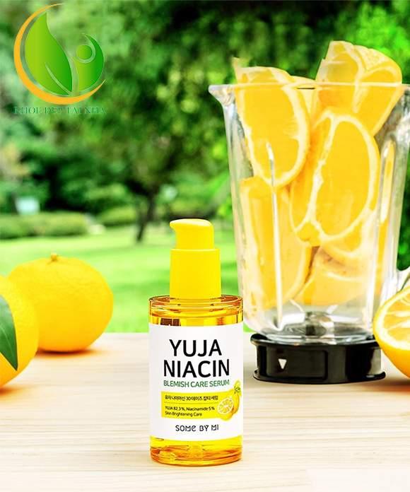 Some By Mi Yuja Niacin 30 Days Blemish Care Serum là loại tinh chất đặc biệt chiết xuất từ Thanh Yên mang đến hiệu quả làm sáng da tối đa