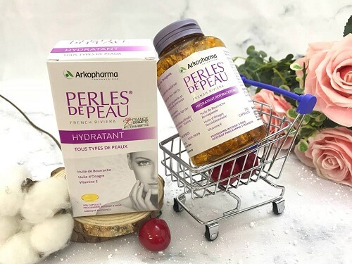 Viên uống đẹp da Perles de Peau của Pháp - Giải pháp chống lão hóa cho làn da